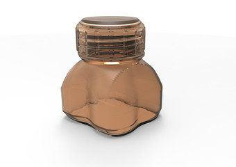 small  bottle 3D