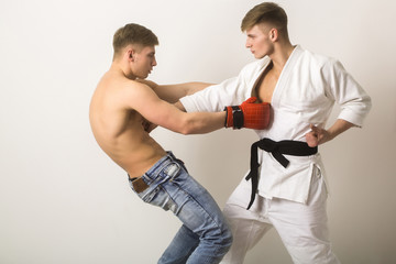 sport and recreation, workout and training, martial art and energy