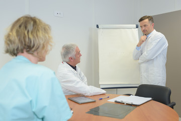 doctors in meeting