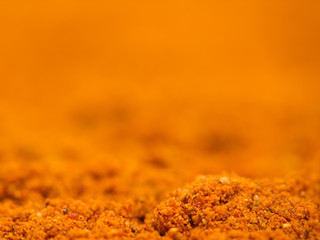 Ground Cayenne Pepper Macro Background