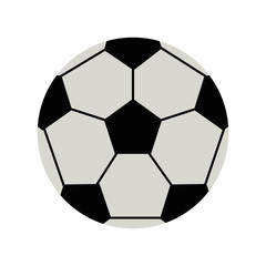 ball soccer or football  related icon image vector illustration design