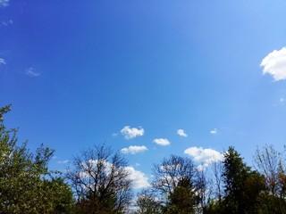 amazing blue sky