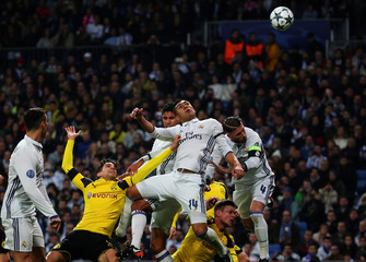 Football Soccer - Real Madrid v Borussia Dortmund - UEFA Champions League Group Stage - Group F