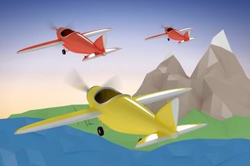 Composite image of composite image of plane icon