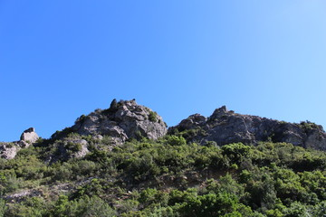 paysage des corbières