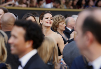Presenter Jennifer Garner arrives at the 88th Academy Awards in Hollywood, California