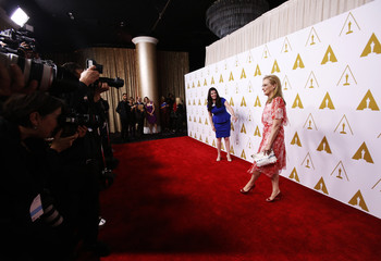 Meryl Streep arrives at the 86th Academy Awards nominees luncheon in Beverly Hills