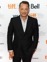 "Actor Hanks arrives on red carpet for the gala presentation of the film ""Cloud Atlas"" at 37th Toronto International Film Festival"