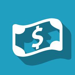 dollar sign icon stock vector illustration