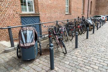 Bicycle parking in Copenhagen