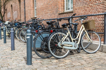 Bicycle parking in Copenhagen