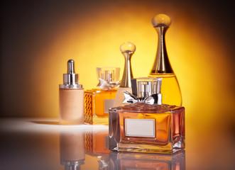 Bottles of perfume