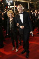 """French journalist Laurent Ruquier arrives for the screening of the film """"Juste la fin du monde"""" (It's Only the End of the World) in competition at the 69th Cannes Film Festival"""