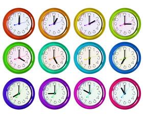 12 isolated clock variants