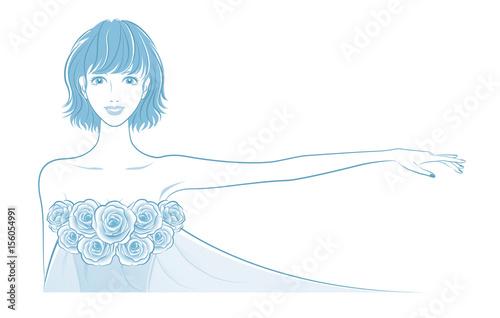 美しい女性のイラスト Stock Image And Royalty Free Vector Files On