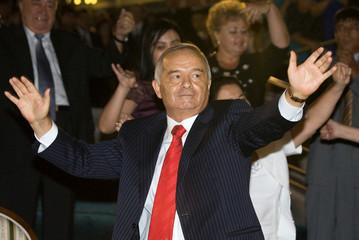 FILE PHOTO -  Uzbek President Islam Karimov attends Independence Day celebrations in Tashkent