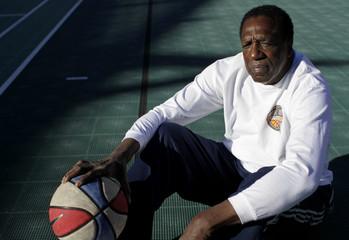 "File photo of former Harlem Globetrotter and Basketball Hall of Famer Meadow ""Meadowlark"" Lemon posing for a portrait in Scottsdale"