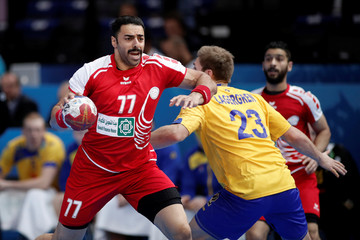 Men's Handball - Sweden v Bahrain - 2017 Men's World Championship Main Round - Group D