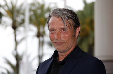 Jury member actor Mads Mikkelsen arrives at the Grand Hyatt Cannes Hotel Martinez on the eve of the opening of the 69th Cannes Film Festival in Cannes