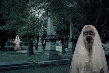 Zombie Graveyard Ghosts