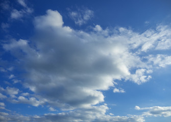clouds with blue sky. background