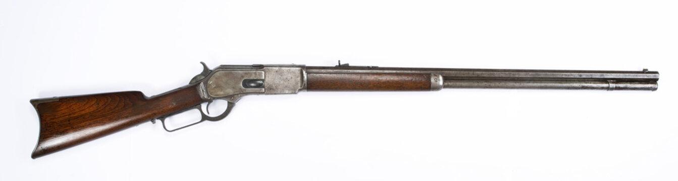 Antique 1876 Lever Action Rifle.