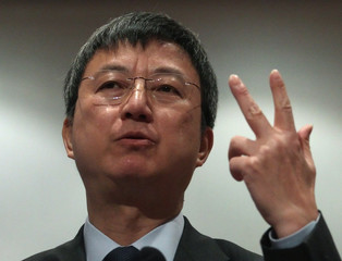 IMF Deputy Managing Director Zhu Min delivers a speech during the Conference on European Economic Integration in Vienna
