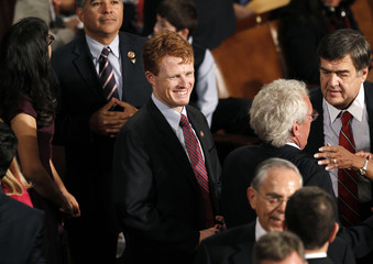 Joseph Kennedy III joins the 113th Congress in Washington