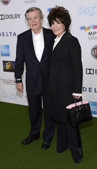 """Songwriter Carole Bayer Sager and her husband, businessman Robert Daly, attend the performance of """"One Night Only"""" benefiting the Motion Picture and Television Fund in Los Angeles"""