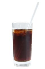 Soda in a glass