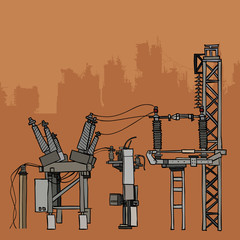 electrical metal plant equipment and networks