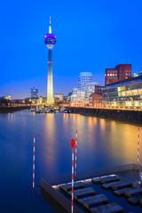 Rheinturm Düsseldorf, Nordrhein-Westfalen, Deutschland