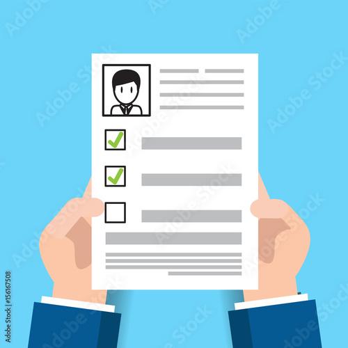 cv resume employee recruitment data paper work send\