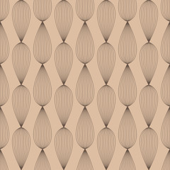 Abstract colored seamless pattern. Brown and beige textile print