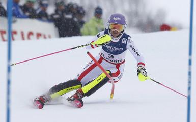 Alpine Skiing - FIS Alpine Skiing World Championships St. Moritz - Women's Alpine Combined