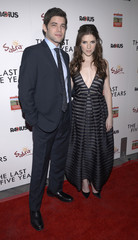 "Jeremy Jordan and Anna Kendrick attend the premiere of ""The Last Five Years"" in Los Angeles"