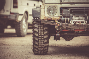 4x4 with off road tyres