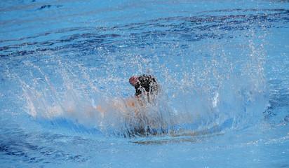 Swimming- European Aquatics Elite Championships- Solo free preliminary synchronized swimming- London
