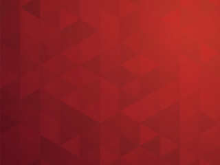 abstract red mosaic geometric background