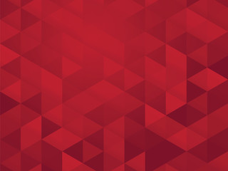abstract red mosaic pattern