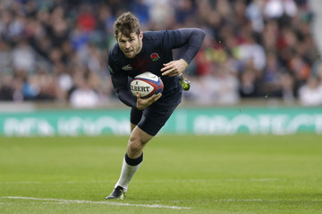 England's Elliot Daly in action