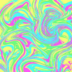 Seamless abstract background in tie-dye style. Patterns for edible icing sheets for covering cakes.