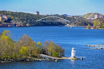 Navigation marks in the Stockholm archipelago