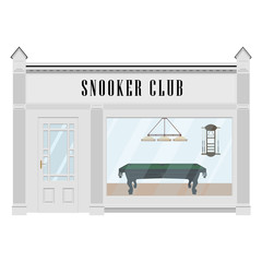 Snooker club vector