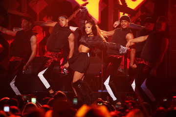 Ariana Grande performs at Z100's Jingle Ball in Manhattan, New York, U.S.