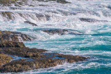 Foto op Plexiglas Kust Rushing Waters