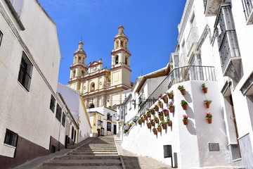 Church of Our Lady of Incarnation in Olvera, Cadiz povince, Andalusia, Spain