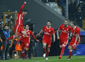 Besiktas vs Benfica - UEFA Champions League group stage - Group B