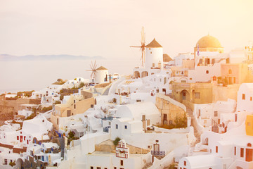 Sunrise in Oia, Santorini