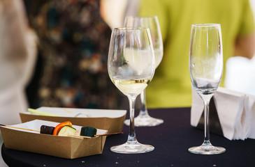 Autocollant pour porte Pique-nique catering drink